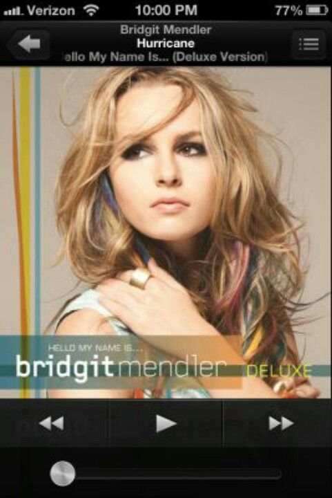 Bridgit Mendler Hurricane Bridgit Mendler Hello My Name Is Debut Album