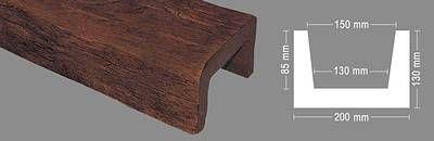 פרופילים דקורטיביים מעץ