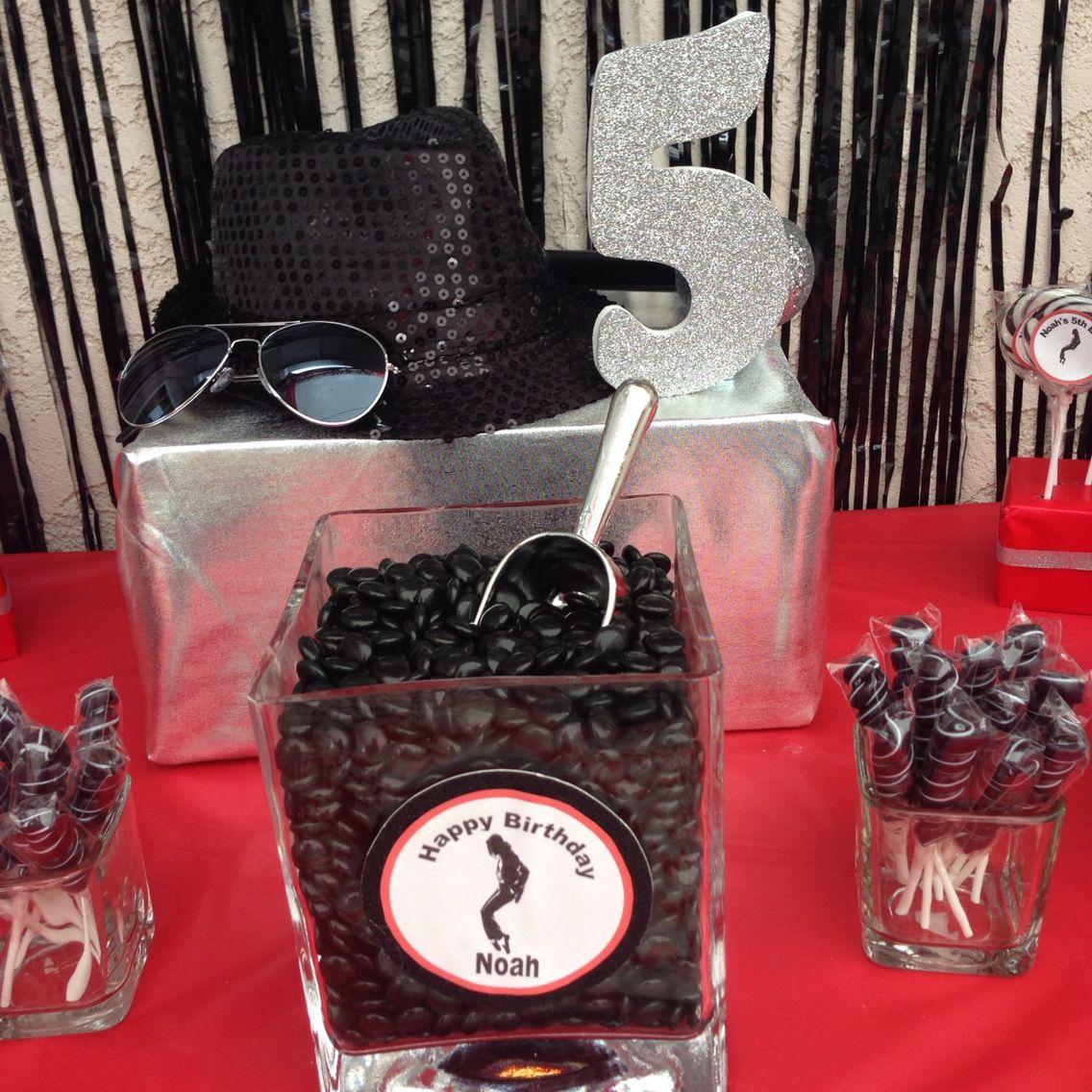 Michael Jackson Party …   Max party ideas   Pinterest   Michael ...