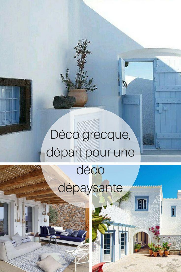 Déco grecque, départ pour une déco dépaysante | Décoration ...