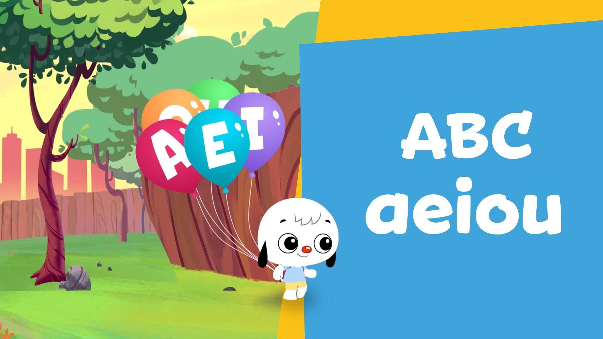 AEIOU: Os animais que começam com vogais | Desenho Infantil | ABC PlayKi...