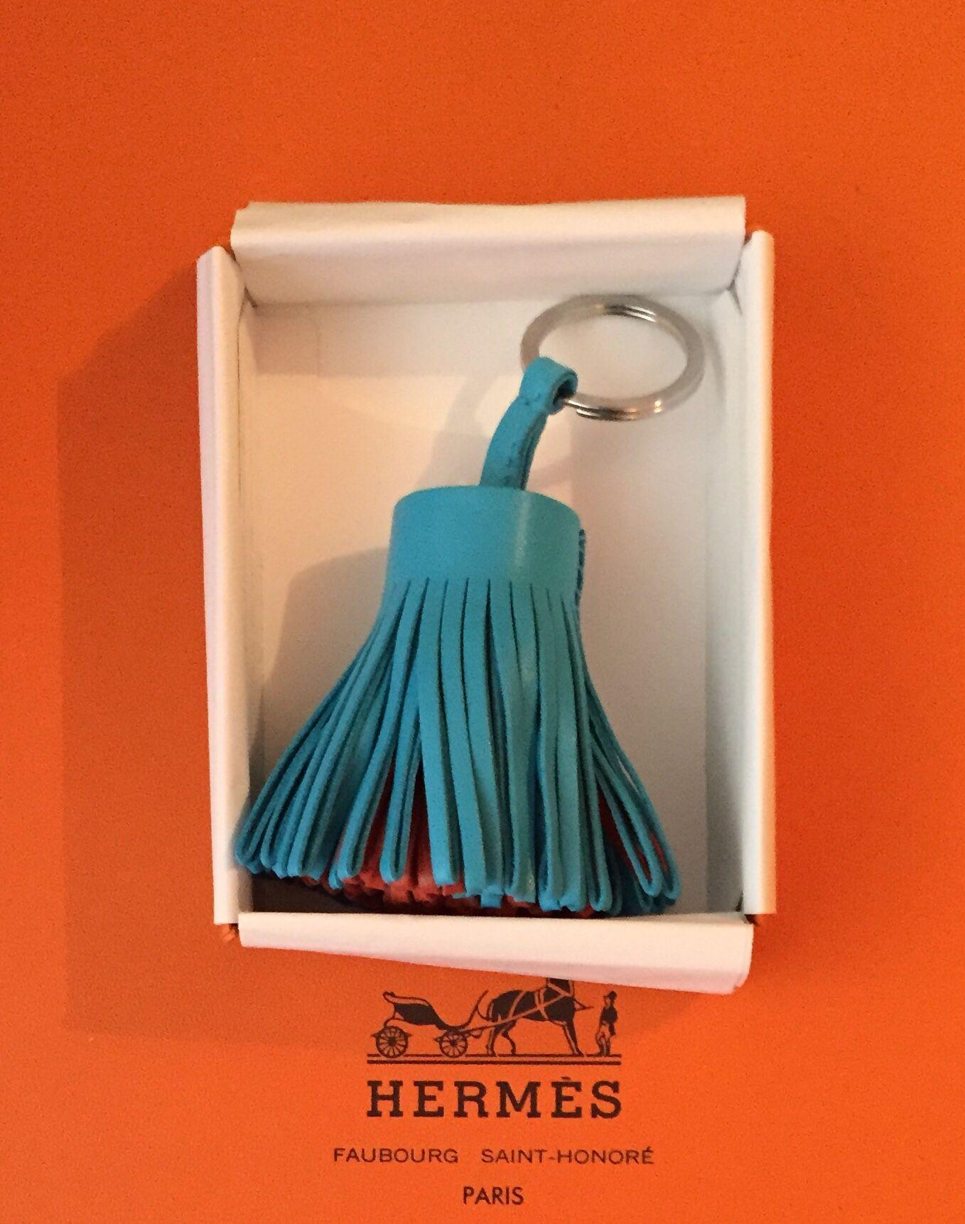 Hermès Carmen Bi-Colors Bleu/Marron