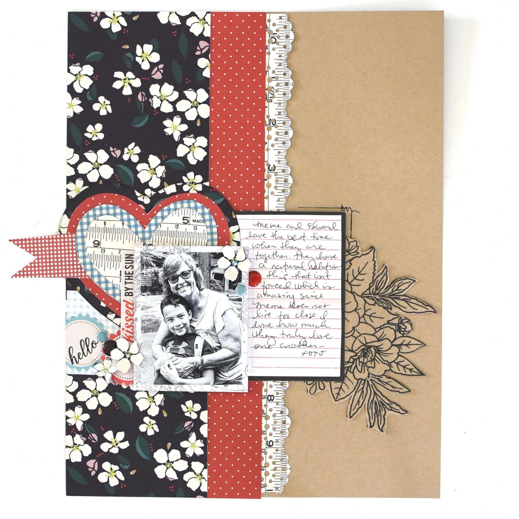 Pin On Love Valentine S Scrapbooking