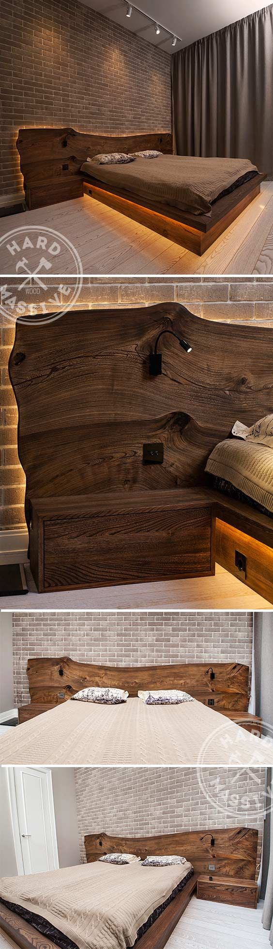 Floating like magic the Riletto nightstands are