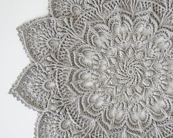 Crochet Doily Pattern Ida Instant Download салфетки крючком