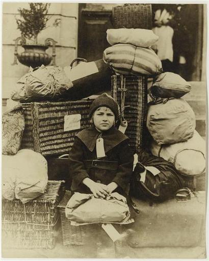 Jeanne Philippe, enfant qui part pour la Suisse