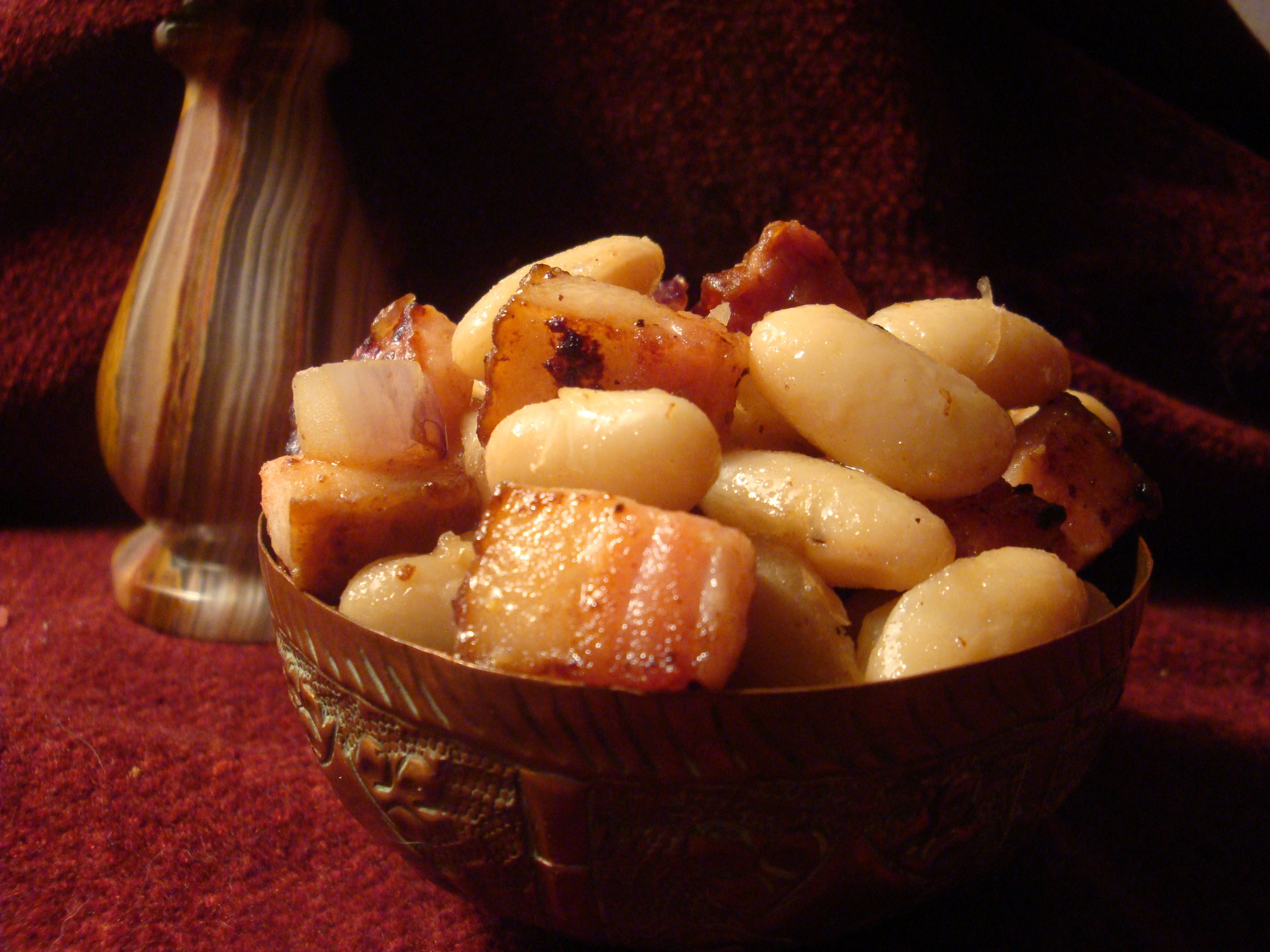 Midieval white beans and bacon | Medieval recipes, Food ...