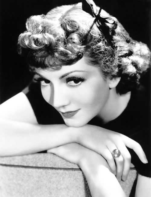 Claudette Colbert, 1941.