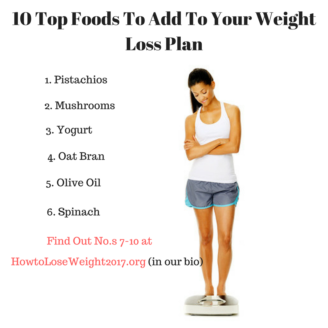 10 top foods for your weight loss plan | online weight loss programs