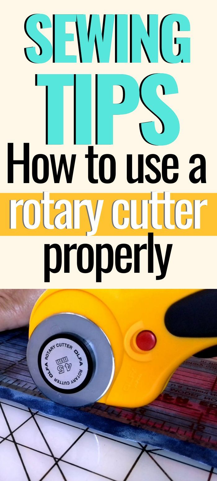 Rotary cutter tips and tricks - what mistakes to avoid