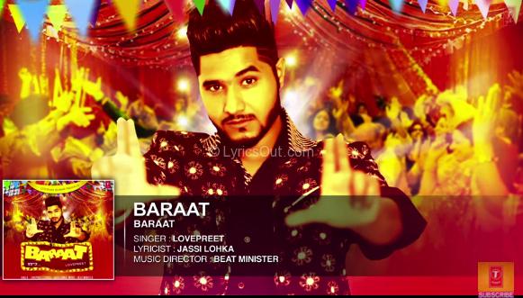 baraat by lovepreet mp3 song