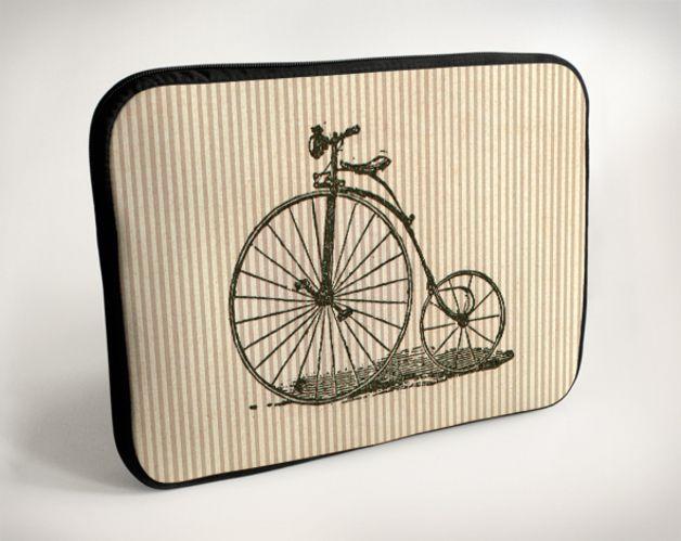 Borse per notebook - Bicicletta - Velocipede - Laptop Case - Sleeve Bag - un prodotto unico di pelbart su DaWanda