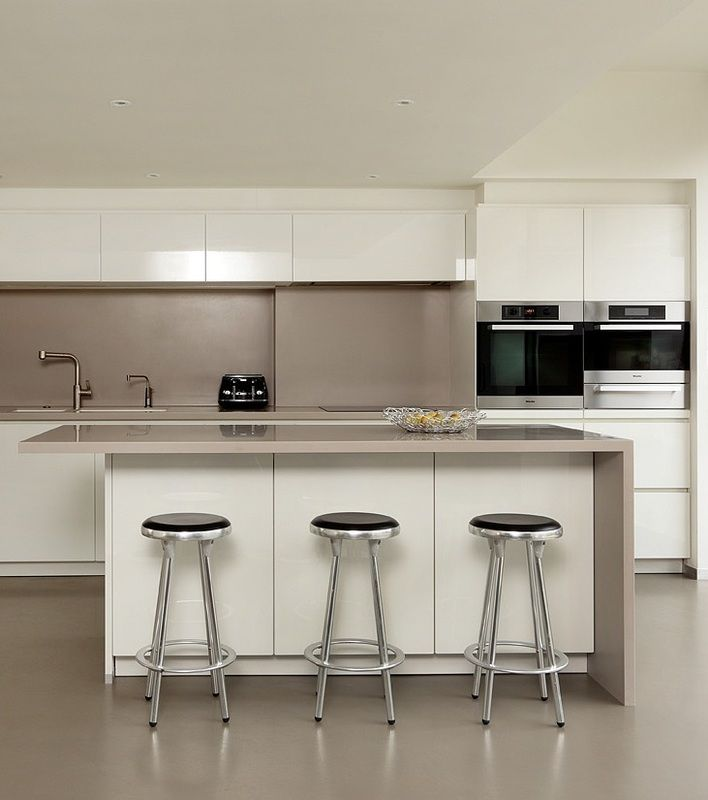 Kitchen Cabinets Handleless: By Far The Most Popular Handleless Kitchen Colour Is White