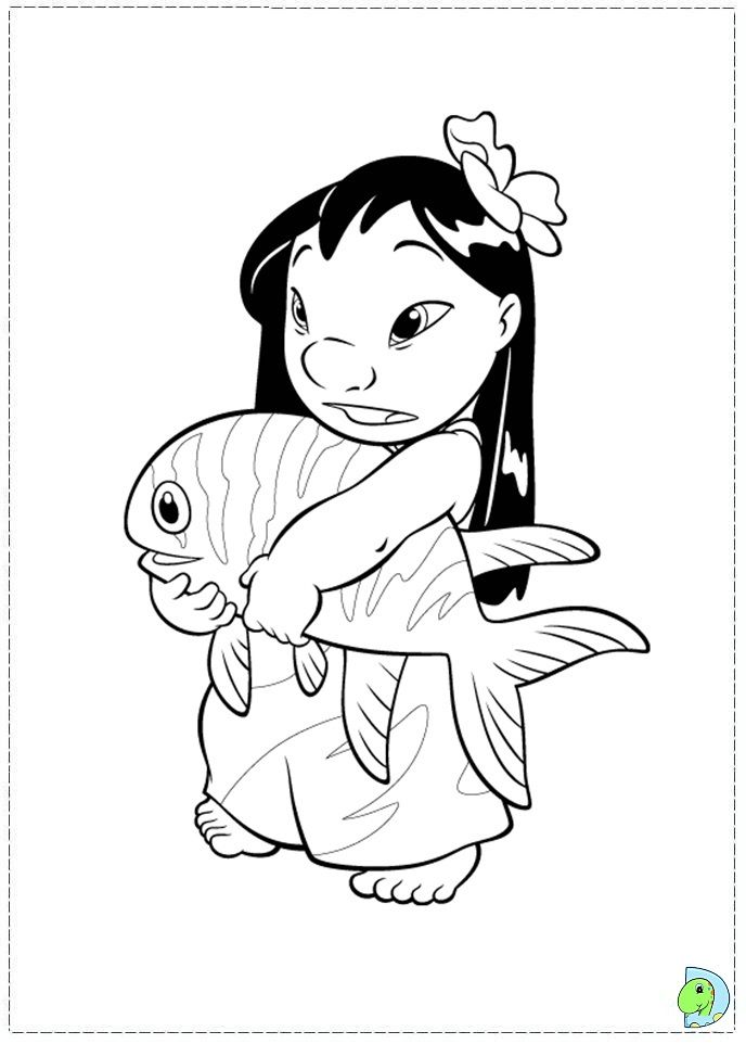 coloriage lilo et stitch | Coloring Pages *Disney | Pinterest ...