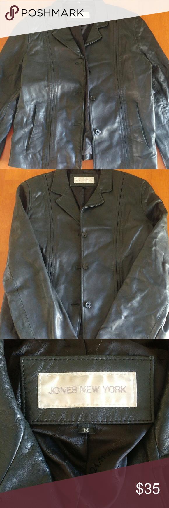 Jones New York Leather Jacket Jones New York Leather Jacket Leather Jackets Women [ 1740 x 580 Pixel ]