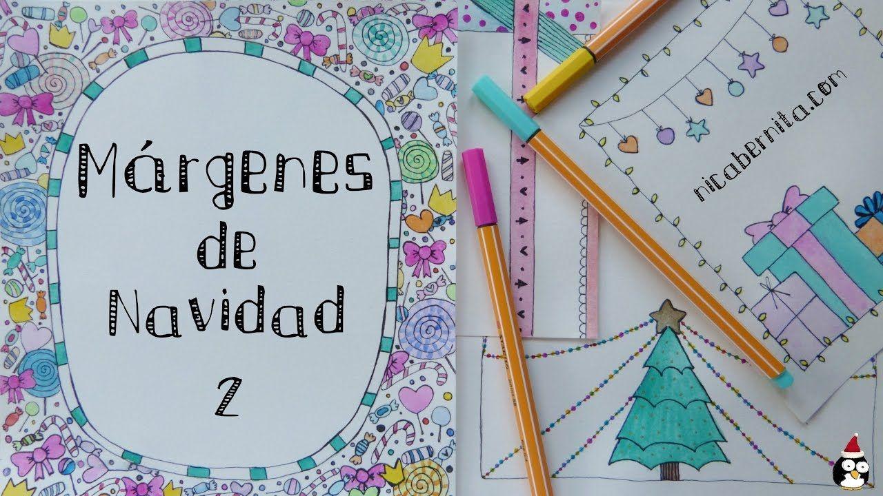 MÁRGENES Para PORTADAS DE CUADERNO Y BORDES Para Decorar