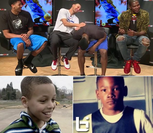 Stephen Curry Kid Kevin Durant tells a h...