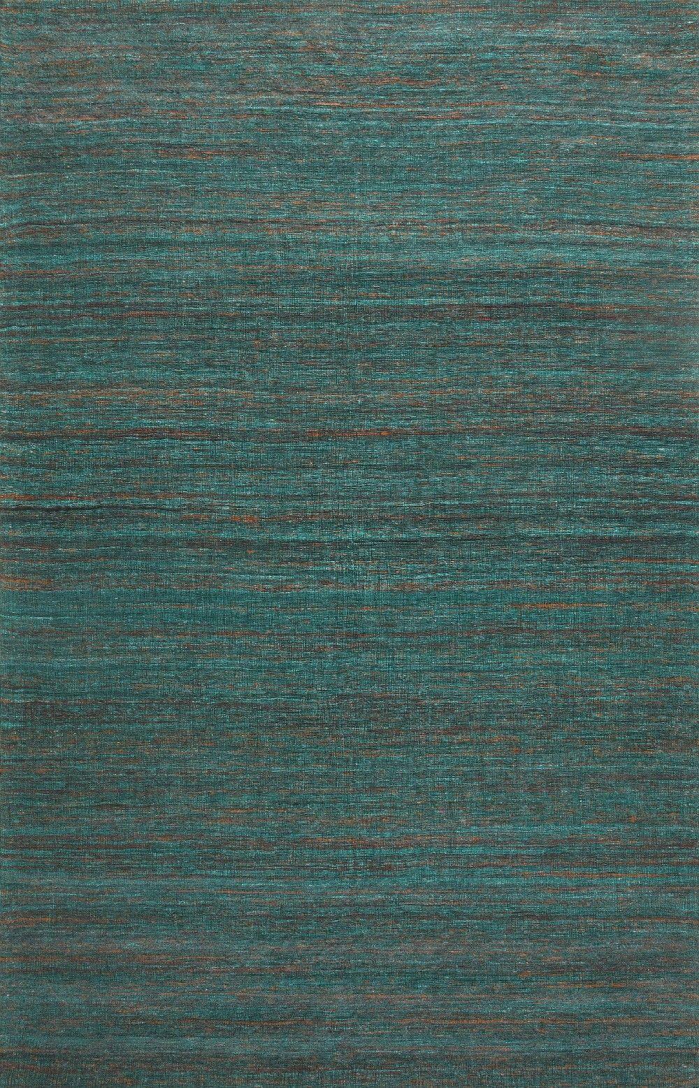 Sale Rugsville Textured Sari Silk 13858 Green Rugsville