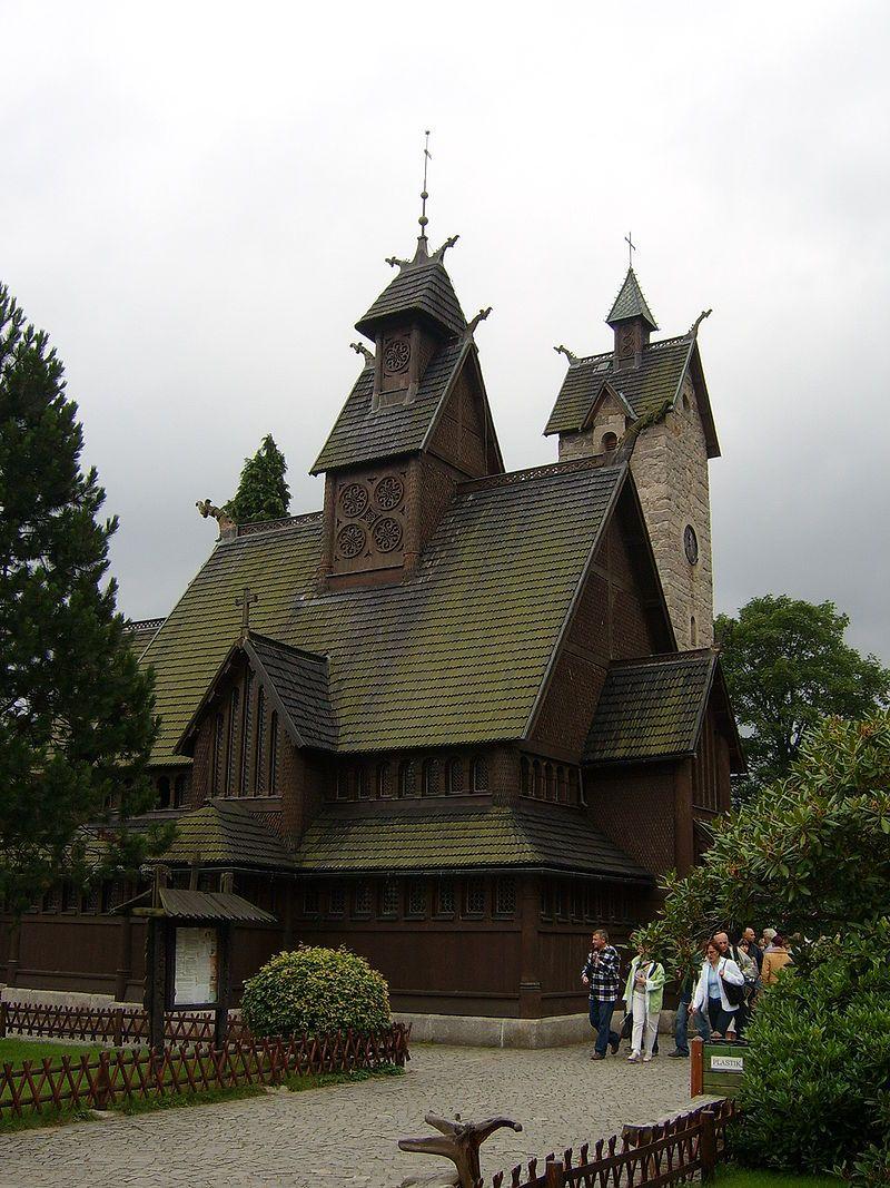 Vang stave church in Karpacz