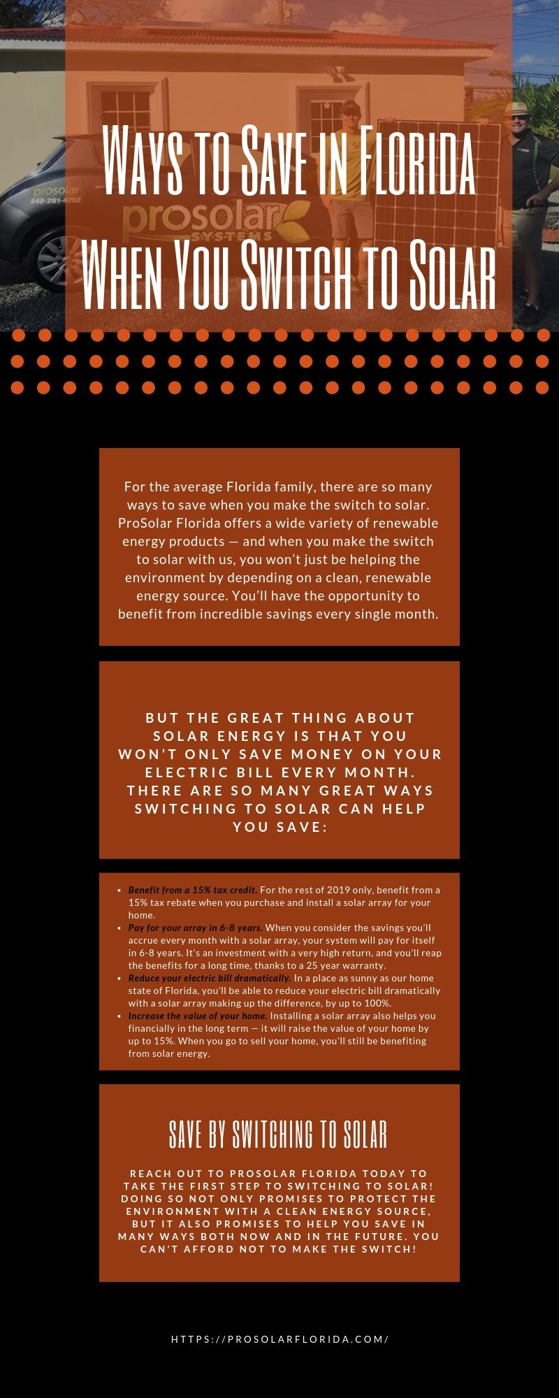 Prosolar Florida Residential And Commercial Solar Energy Systems Solar Energy Solutions Solar Energy System Solar Energy