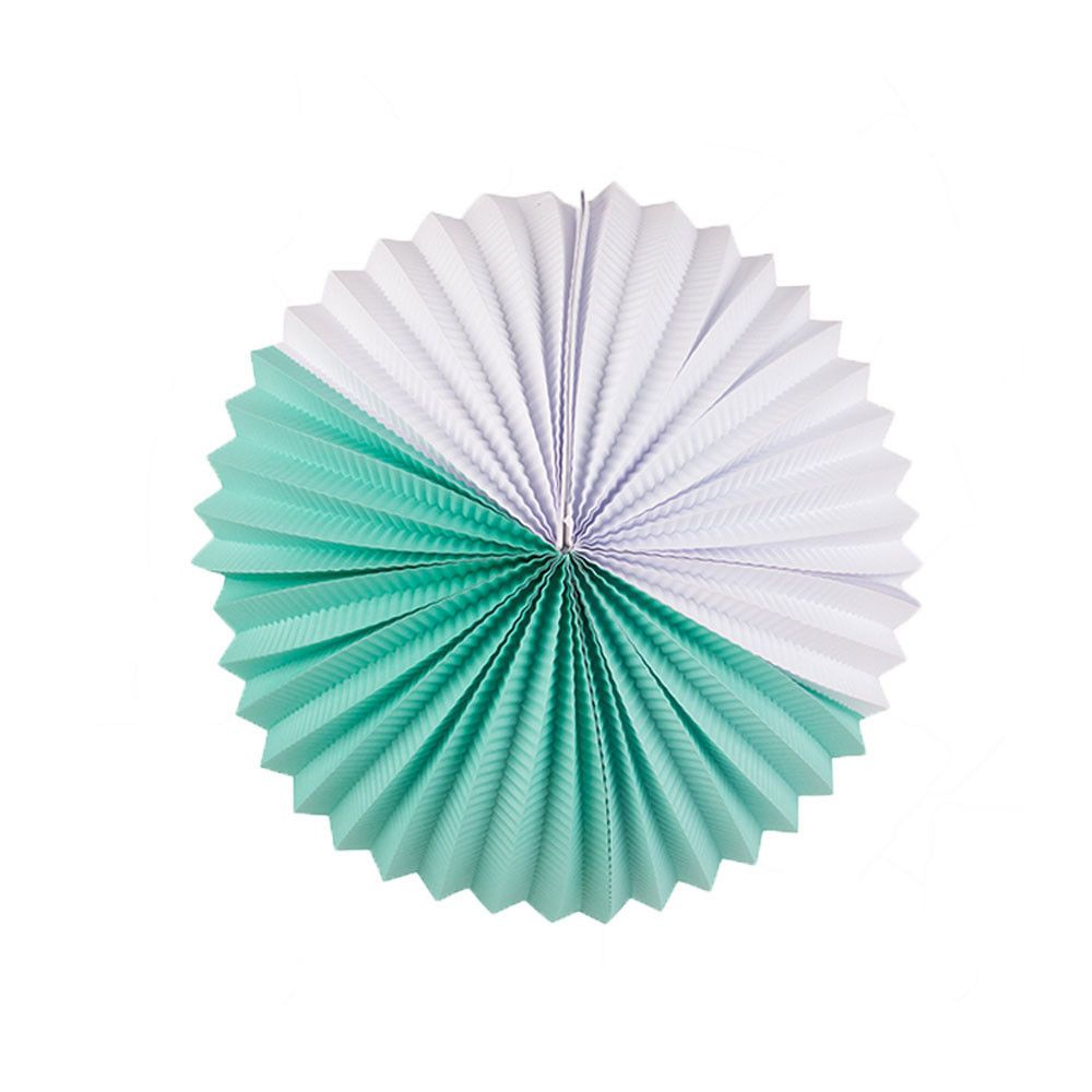 My Little Day Aqua Paper Lantern: Pretty accordion paper lantern for ...