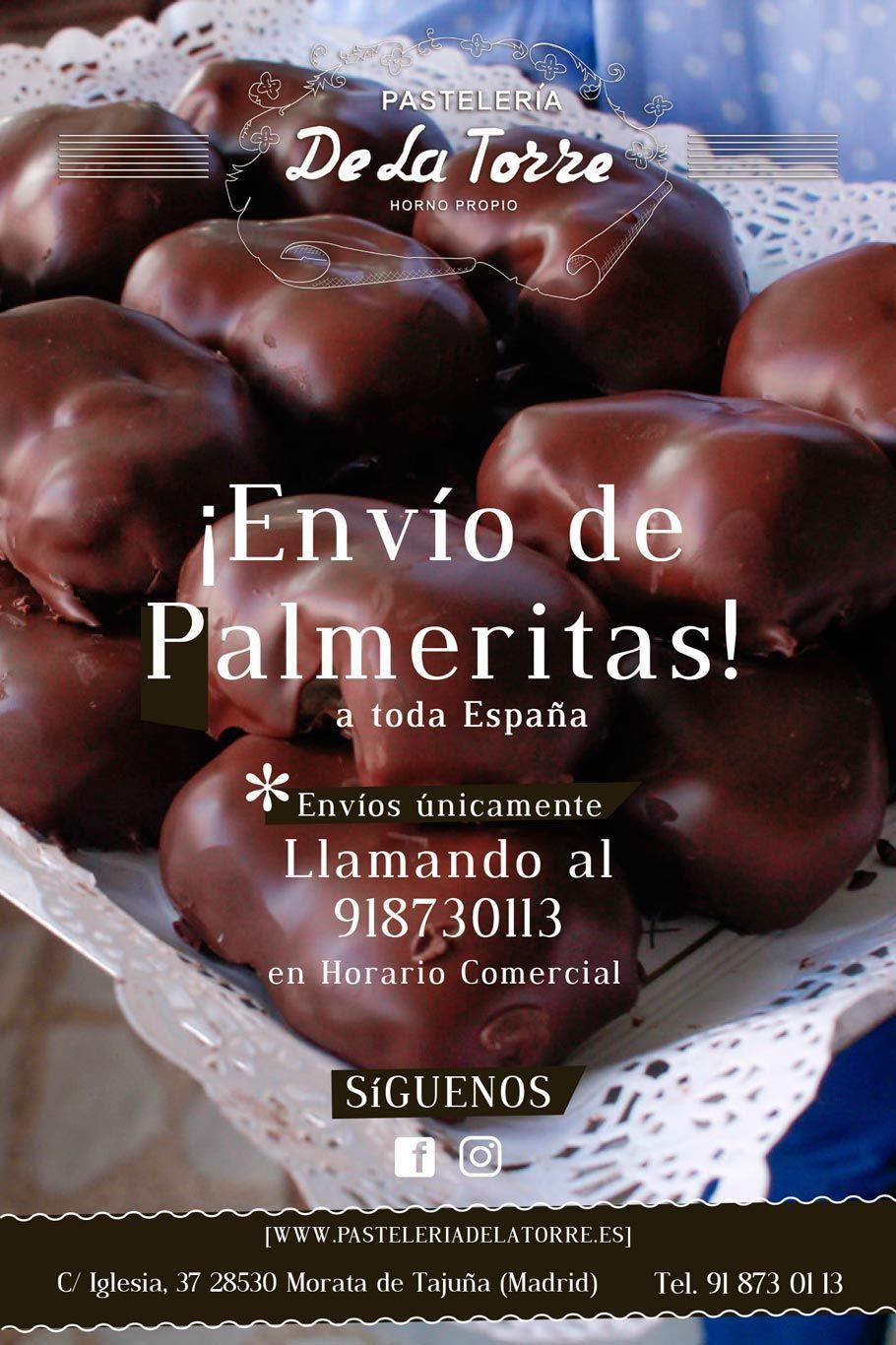Pasteleria De La Torre Pasteleria Palmeras De Chocolate Tarta De Chocolate