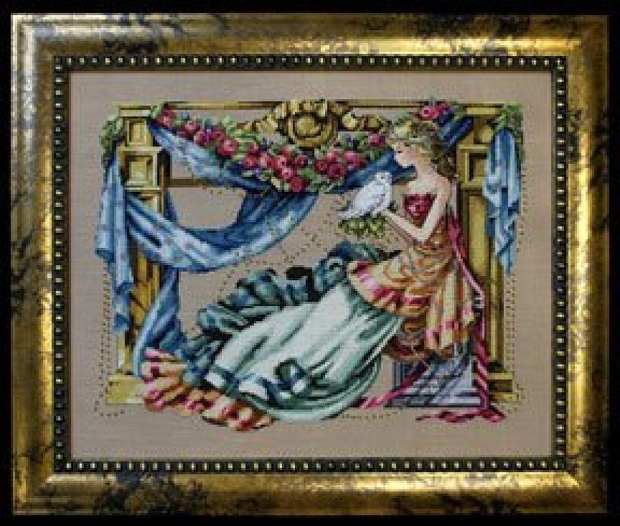 Goddess of Wisdom Mirabilia Designs//Nora Corbett chart MD97 Athena