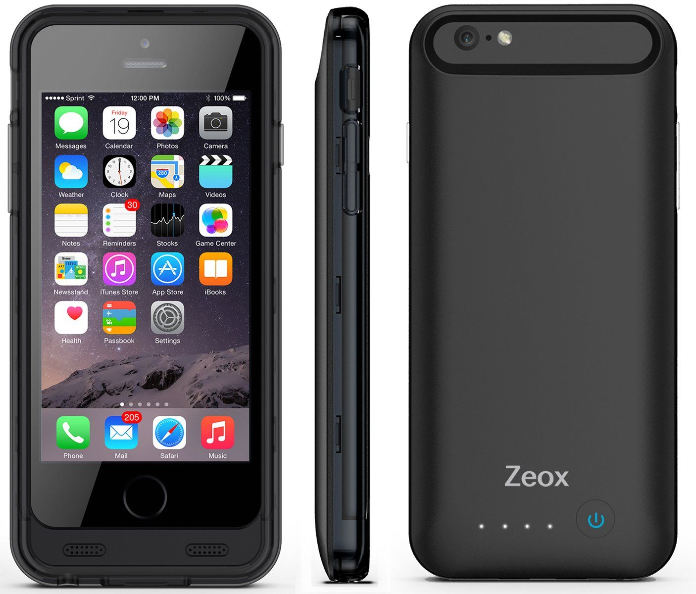 iPhone 6 Battery Case Zeox iPhone 6 Battery Case 4.7