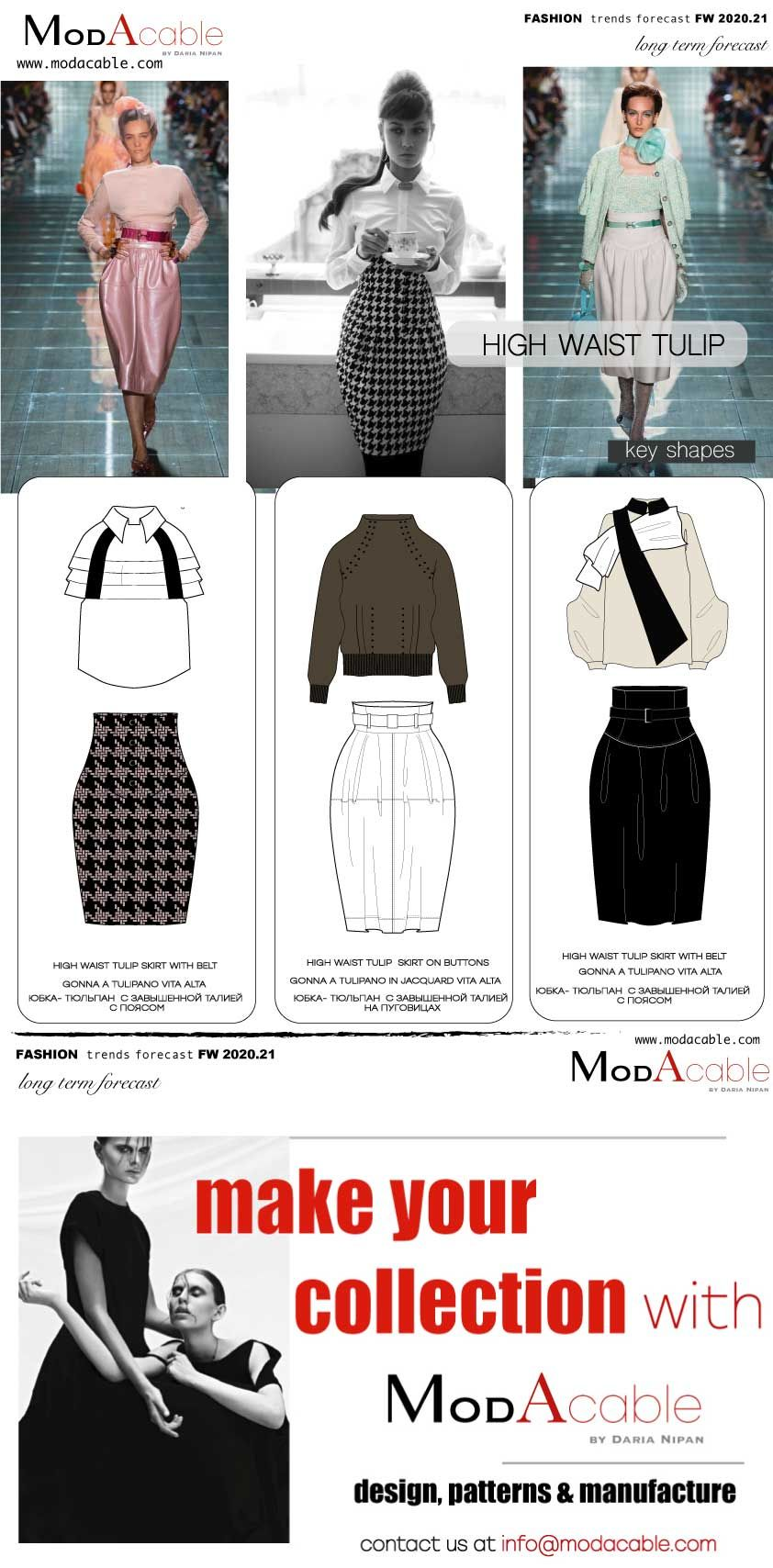 Upcoming Trends 2020.Fw 2020 21 Trend High Waist Tulip Skirt In 2019 Fashion