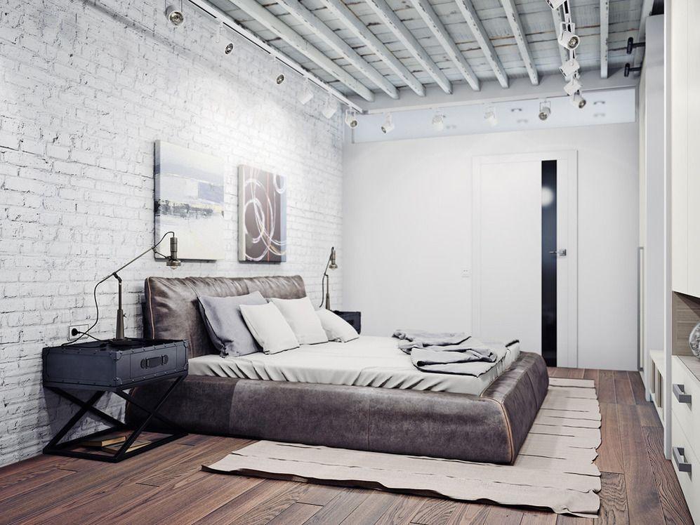 Hochwertig Фотография: Спальня в стиле Лофт, Современный, Декор интерьера, Квартира,  Декор,