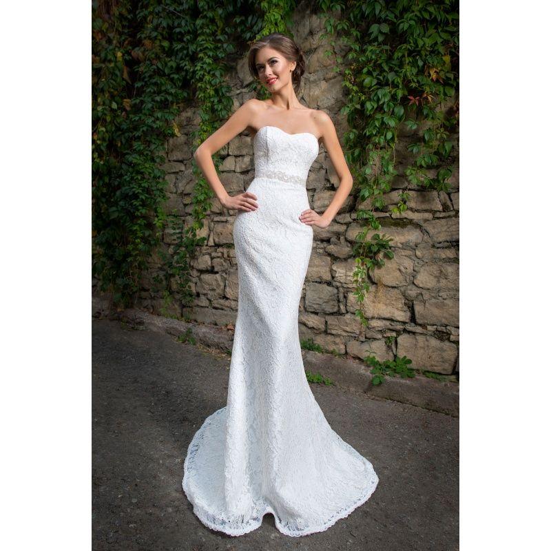 Luxusné úzke čipkové svadobné šaty s opaskom  10661f3ab8b