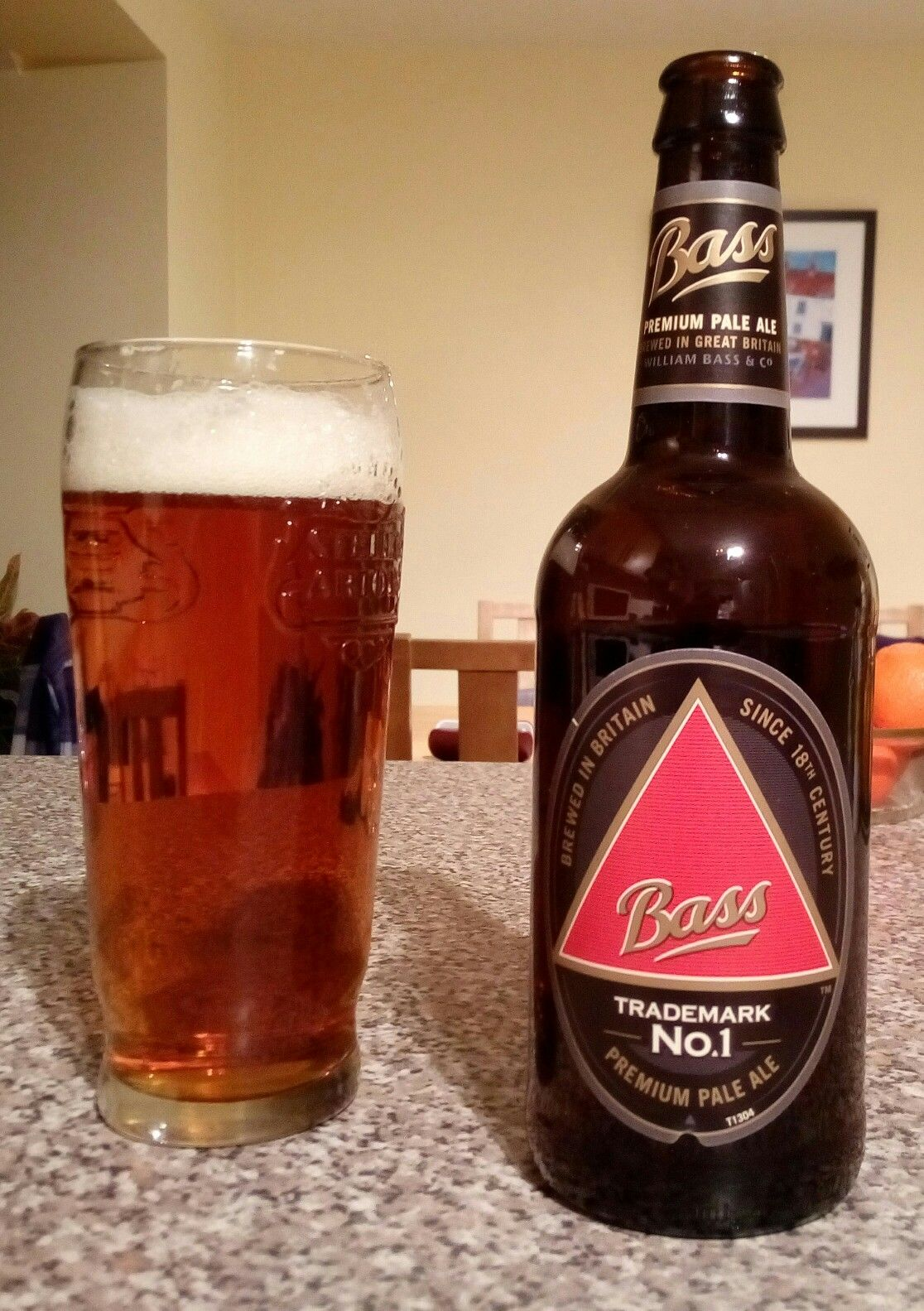 Bass Pale Ale Pale Ale Ale Beer Bottle