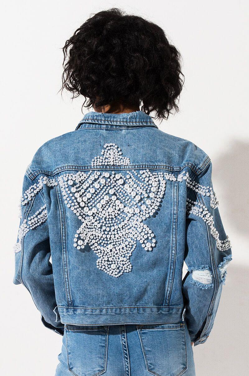 Pin De Kailey Jones Em Denim And Pearls Jaquetas De Ganga Jaqueta Jeans Casaco [ 1209 x 800 Pixel ]