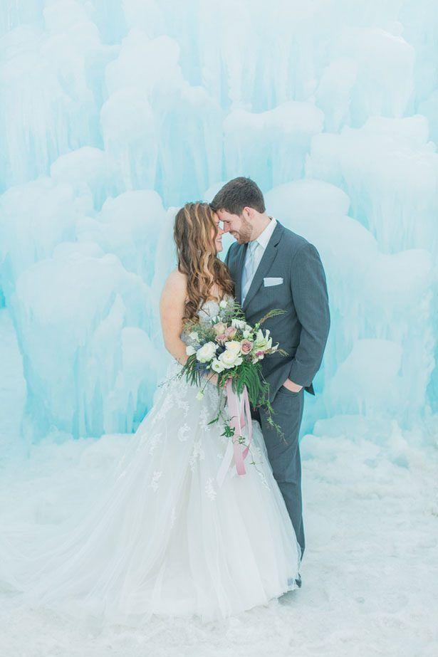 Dreamy Ice Castle Wedding Inspiration - Andrea Simmons Photography LLC