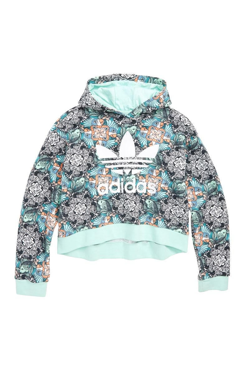 cfb2456323ed Free shipping and returns on adidas Originals Graphic Crop Hoodie ...