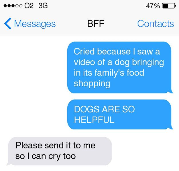 13 Conversations All Really Close Friends Have Had