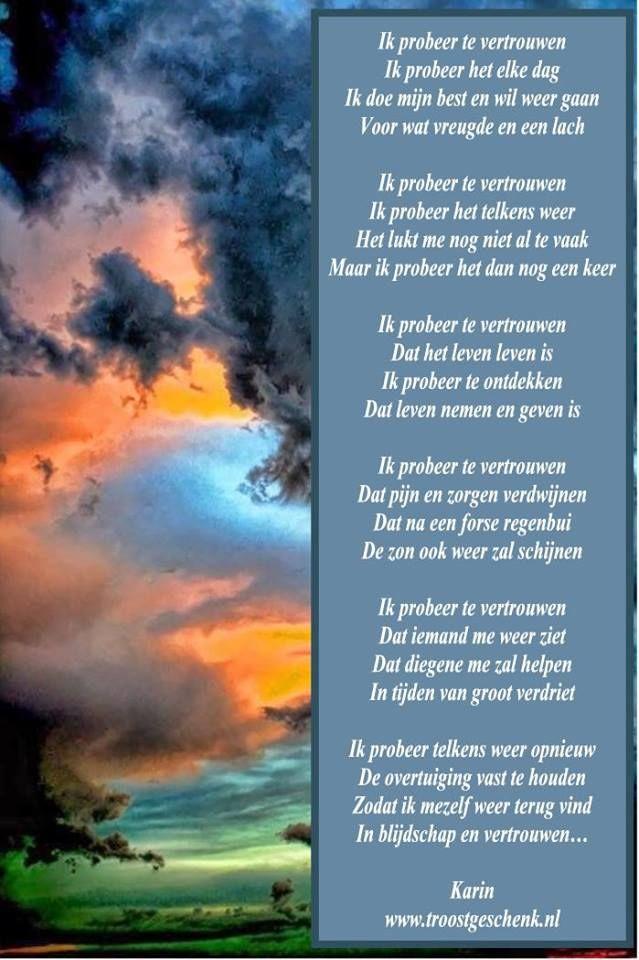 Citaten Rouw : Vertrouwen troostgeschenk gedichten