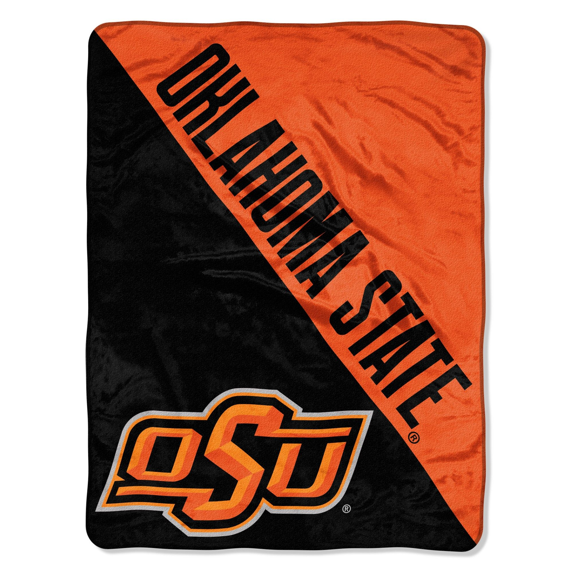 NCAA Oklahoma State Cowboys Micro Fleece Throw Blanket ...