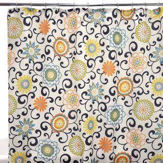 Waverly Pom Play Confetti Shower Curtain