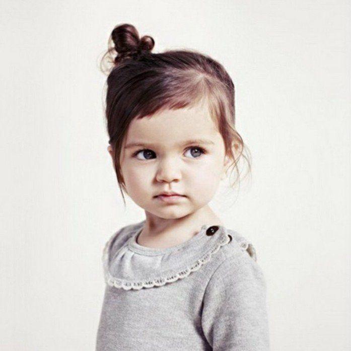 Coiffure Bebe Fille 62 Idees Faciles Et Trop Mignonnes Coiffure Bebe Fille Coupe Cheveux Petite Fille Coiffure Bebe