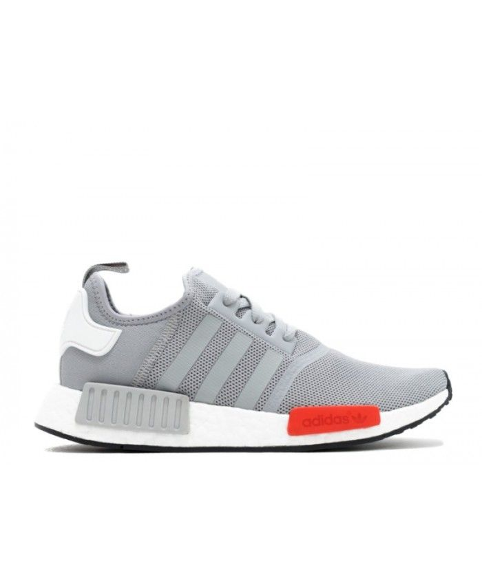 Chaussure Adidas NMD Runner Gris Blanche Rouge S79160