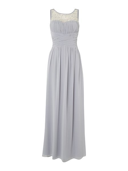 615221ca4cf Beaded top maxi dress