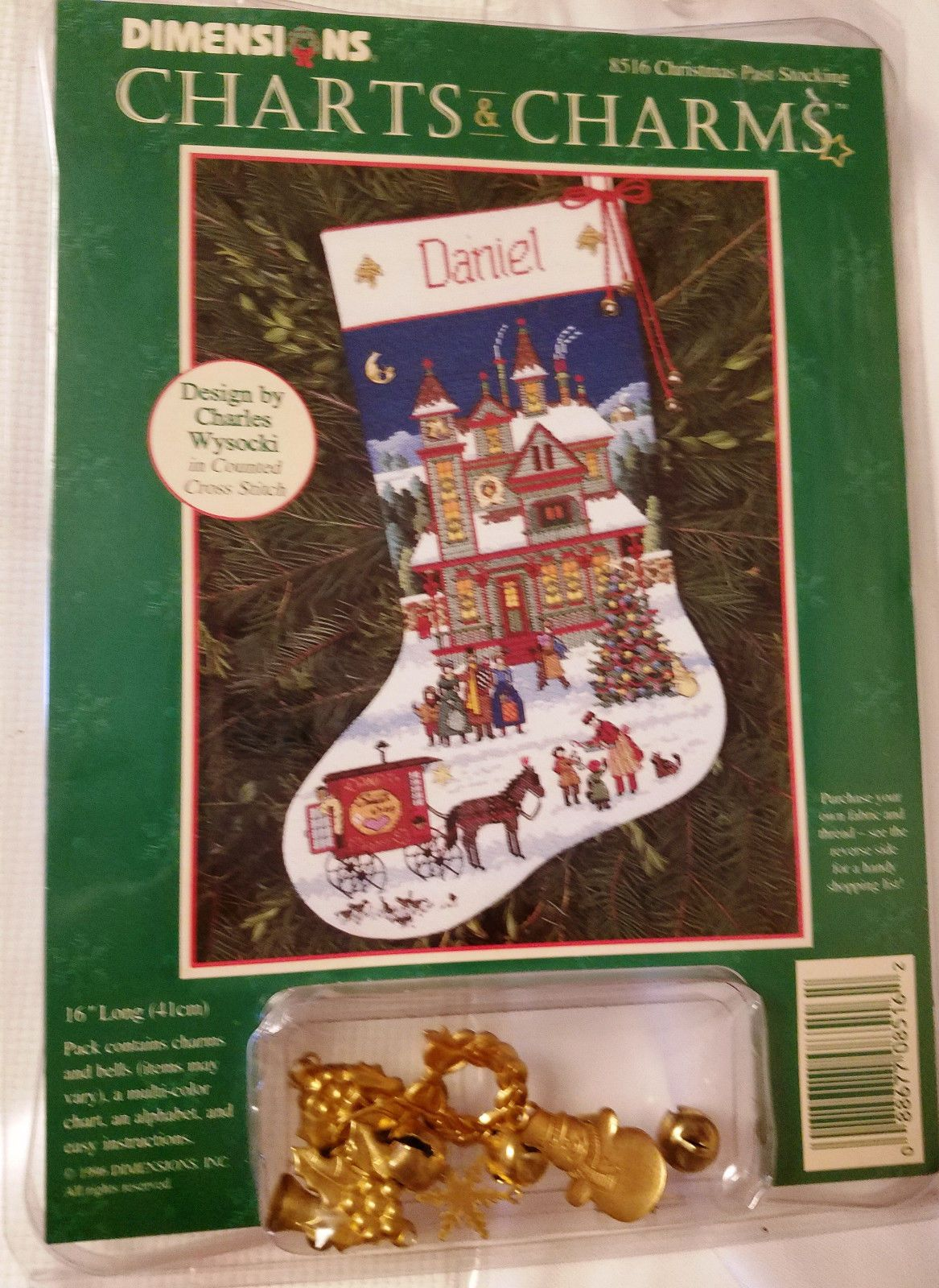 Dimensions Christmas Stocking Kits.Dimensions Christmas Past Christmas Stocking Kit Charts