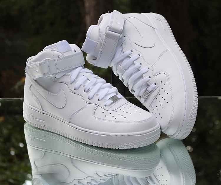 Nike Air Force 1 Mid '07 White 315123 111 Men's Size 10