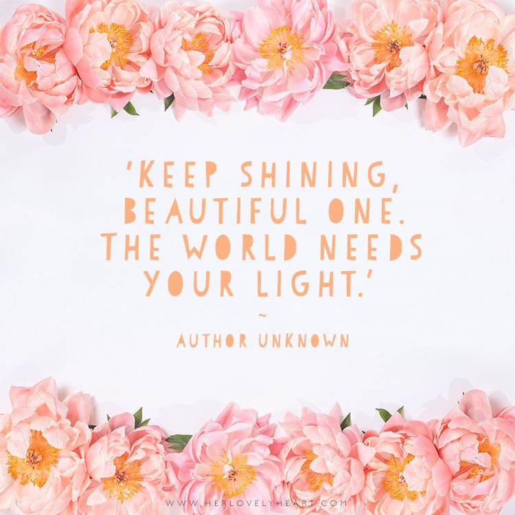 Keep Shining The World World And Beautiful