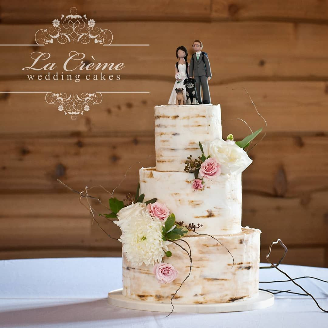 beautiful, separate specialty wedding cakes on glass jars