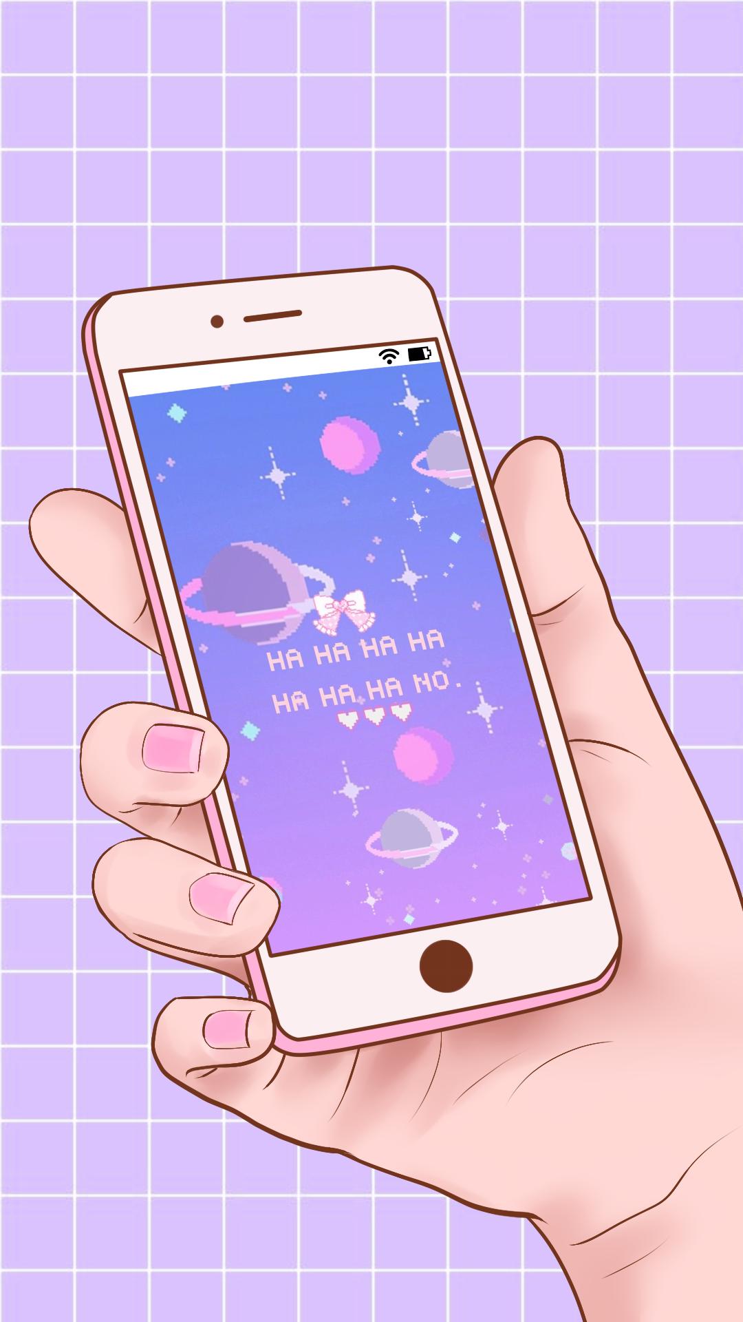 Message From Space Cute Pastel Wallpaper Kawaii Wallpaper Cute Kawaii Drawings