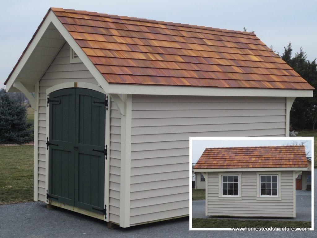 8 X 12 A Frame Garden Shed With Vinyl Siding Garden Shed Shed Pool House Plans