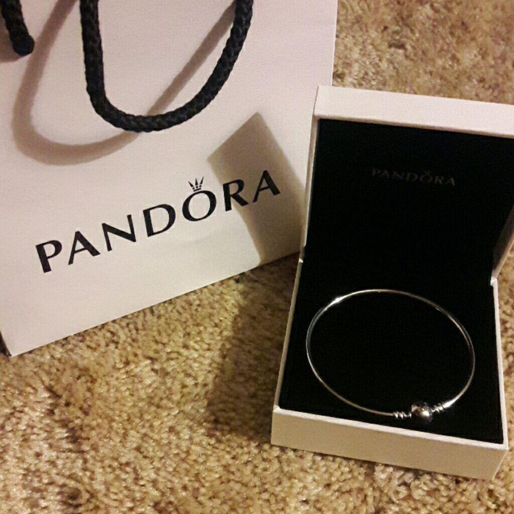 Pandora Bangle Bracelet Size Large