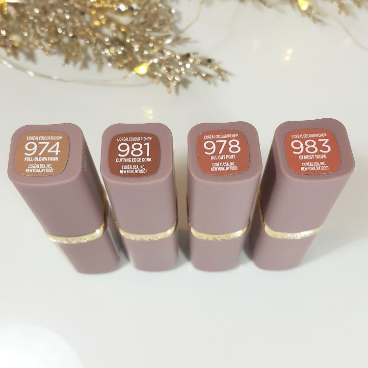 LOreal Color Riche La Palette Lips - Matejas Beauty Blog